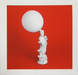 Sebastian Schramm; Red, 2012; inkjet