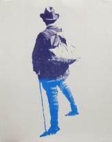Roy Voss; Explorer, 2012; UV solvent print