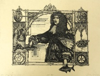 Julie Speed; The Pirate Queen, 2011; etching, polymer plate (305x401 mm); artist proof