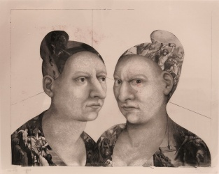 Julie Speed; Women's Studies, 2005; acetate