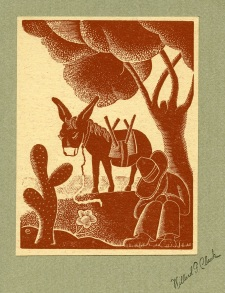 Willard Clark; wood engraving