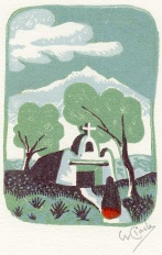 Willard Clark; woodcut