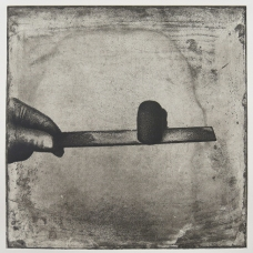 Kim Bauer; 11 32 02, 2005; intaglio (330x303 mm)