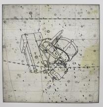 Kim Bauer; Flamsteed III, 2012; intaglio (328x302 mm)