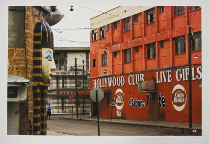 Julián Cardona; Las Vegas nightclub, the Hollywood Club and Queen's Place strip club, 2007-11; 668x1000 mm