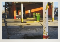 Julián Cardona; Old Diamante gas station, 2007-11; 400x600 mm