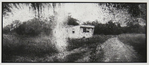 Trailer Park #3, from the series, Hard Times, 2011-18; pigment inkjet print; image: 210x508mm