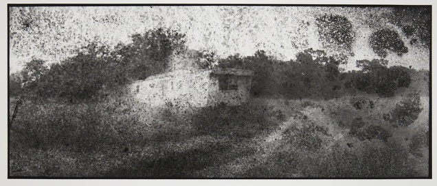 Trailer Park #3, from the series, Hard Times, 2011-18; pigment inkjet print; image: 335x814mm
