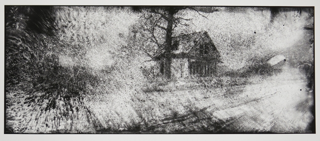 Ghost House, from the series, Hard Times, 2011-18; pigment inkjet print; image: 330x814mm