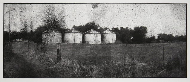 Grain Storage, from the series, Hard Times, 2011-18; pigment inkjet print; image: 333x815mm