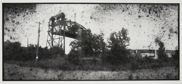 Untitled, from the series, Bridging Cleveland, 2013-18; pigment inkjet print; image: 222x503mm