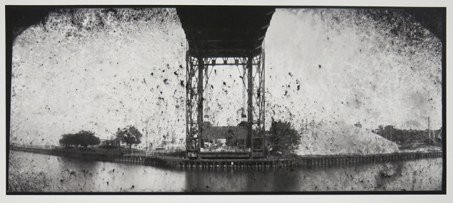 Untitled, from the series, Bridging Cleveland, 2013-18; pigment inkjet print; image: 220x508mm