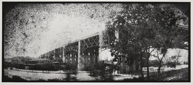 Untitled, from the series, Bridging Cleveland, 2013-18; pigment inkjet print; image: 345x815mm