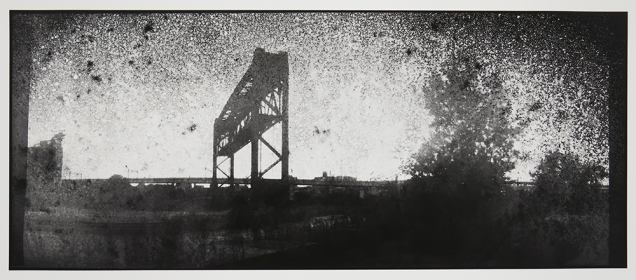 Untitled, from the series, Bridging Cleveland, 2013-18; pigment inkjet print; image: 341x815mm