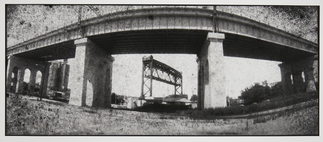 Untitled, from the series, Bridging Cleveland, 2013-18; pigment inkjet print; image:342x815mm