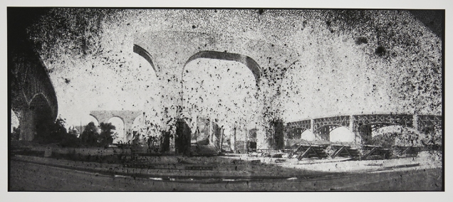 Untitled, from the series, Bridging Cleveland, 2013-18; pigment inkjet print; image: 343x815mm