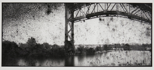 Untitled, from the series, Bridging Cleveland, 2013-18; pigment inkjet print; image: 350x815mm
