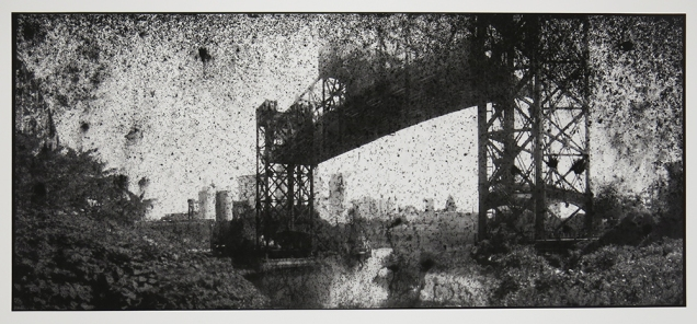 Untitled, from the series, Bridging Cleveland, 2013-18; pigment inkjet print; image: 353x815mm