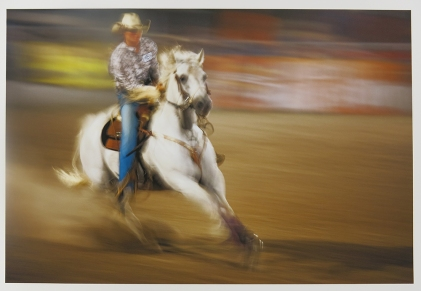 Untitled, from the series, Rodeo, 2010-18; pigment inkjet print; image: 308x508mm
