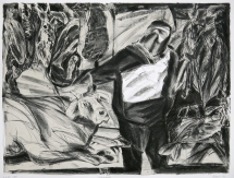 Richard Dishinger; Poacher, 1991; lithograph; 763x1015 mm