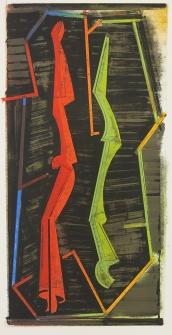 Warren Rosser; Reflex & Memory II, 1992; lithograph; 950x470 mm
