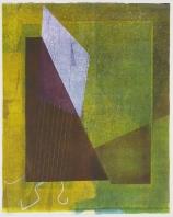 Kent Kapplinger; Untitled 9, 1993; monotype