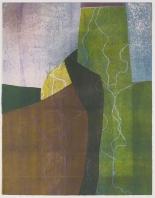 Kent Kapplinger; Untitled 11, 1993; monotype