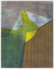 Kent Kapplinger; Untitled 13, 1993; monotype