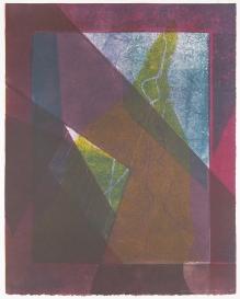Kent Kapplinger; Untitled 3 1993; monotype