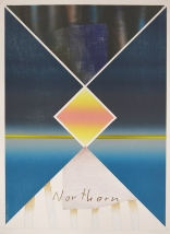 Kent Kapplinger; Northern, 2001 from the series, Beautiful Recollections: The Changing Season & Northern Lights Series; mixed media