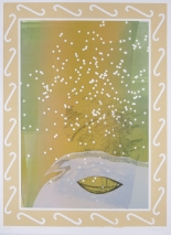 Kent Kapplinger; Winter, 2001 from the series, Beautiful Recollections: The Changing Season & Northern Lights Series; mixed media