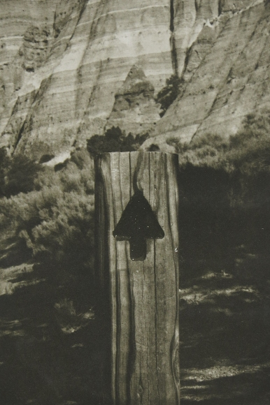 Neal Cox; Arrow no. 2, 2012; Photogravure; 390mmx195mm; AP
