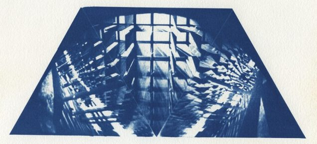 Neal Cox; The Sombrilla, 2007; Cyanotype; 284mmx215mm; AP