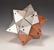Stellated Dodecahedron Camera v. 2. 2012. This camera has twelve pentagonal film planes, each receiving five exposures.