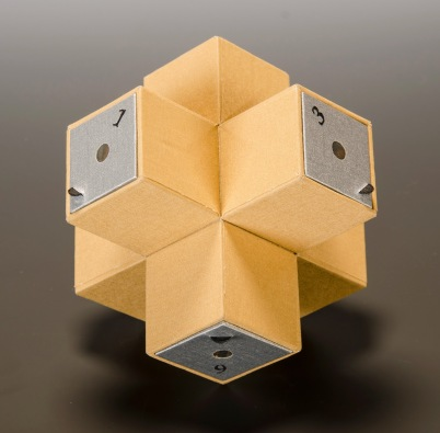 Extended Cube Camera version 2. 2013. Six square film planes.