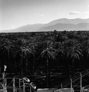 Kistin Capp; Roller Coaster, Indio, California, 1994; inkjet pigment print; 520x505mm