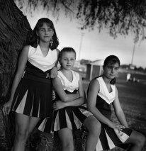Kristin Capp; Cheerleaders, Soap Lake, Washington, 1995; inkjet pigment print; 512x511mm