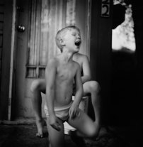 Kristin Capp; Girl Laughing, Soap Lake, Washington, 1994; inkjet pigment print; 523x508mm