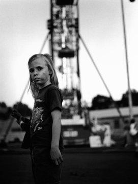 Kristin Capp; Girl at Fair, Pendleton, Oregon, 1995; inkjet pigment print; 657x504mm
