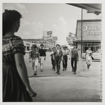 Larry Fink; Houston, Texas, 1958 (2014); inkjet pigment print; 381x382mm