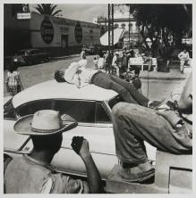 Larry Fink; Ojo, Monterrey Mexico, 1958 (2014); inkjet pigment print; 381x375mm