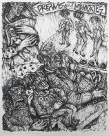 Margo Kren, (title page) Dreams and Memories, 1982-83; lithograph; 240x192mm